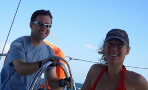 Doug and Michelle of SailTime Boston